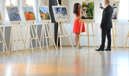 Garanti Bankası Çalışanlarının Fotoğraf Sergisi Açıldı