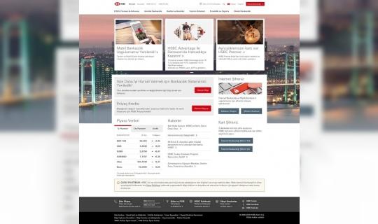 HSBC Web Sitesi Yenilikleriyle Ödüllendirildi