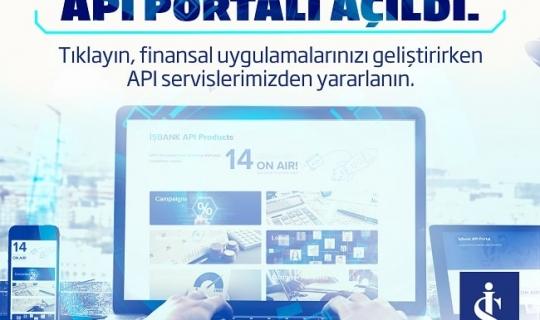 İş Bankası API Portalını Açtığını Duyurdu