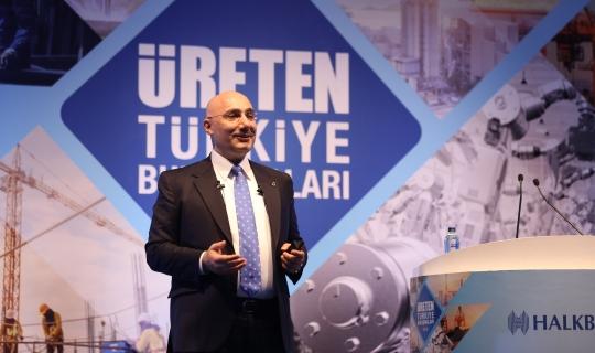 KOBİ'lerle Üreten Türkiye Toplantısına Halkbank'ta Katılıyor