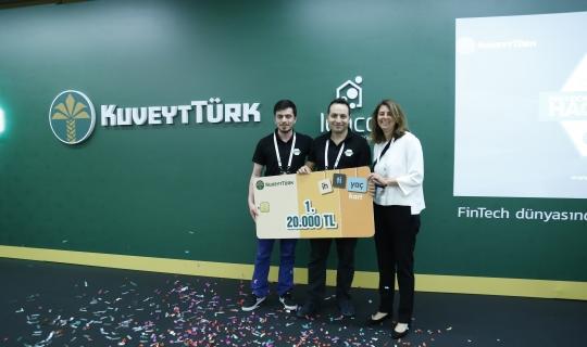 Kuveyt Türk Hackathon Yarışmasını Sonuçlandırdı