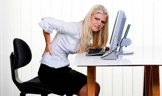 Ofis Çalışanlarının Yanlış Oturma Pozisyonları Hangileri?