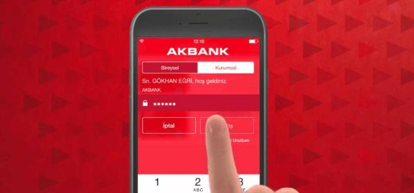 Akbank Mobil'den Yeni Uygulama Özelliği!