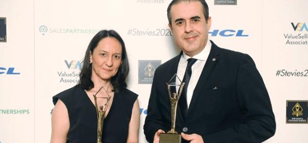 Denizbank İkinci Kez Grand Stevie Ödülünü Aldı