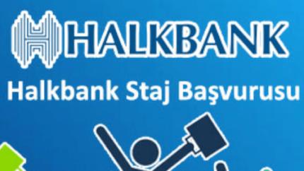 Halkbank Stajyer Alımı Yapacak!