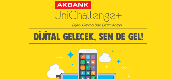 Akbank UniChallenge+ Dijital Öğrenci İşleri Eğitim Kampı Ertelendi