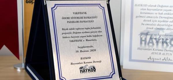 HAYKOD Vakıfbank'tan 10 Ton Mama Desteği Aldı