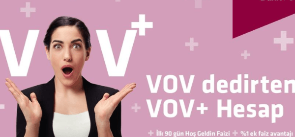 """Alternatif Bank'tan """"Vov"""" Dedirten VOV+ Hesabı"""