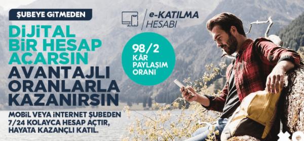 """Türkiye Finans'tan """"Dijital Bir Hesap Açarsın Avantajlı Oranlarla Kazanırsın"""""""