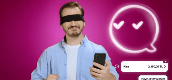 QNB Finansbank'tan Dijital Asistan Tadım Reklamı